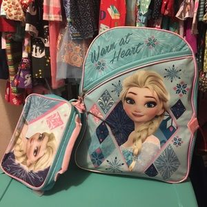Frozen Backpack & lunch box